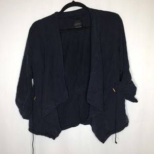Sanctuary women's Large blue anorak coat